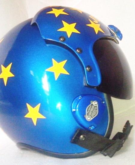 Top Gun Jester Helmet | Top Gun Movie Accurate Replicas
