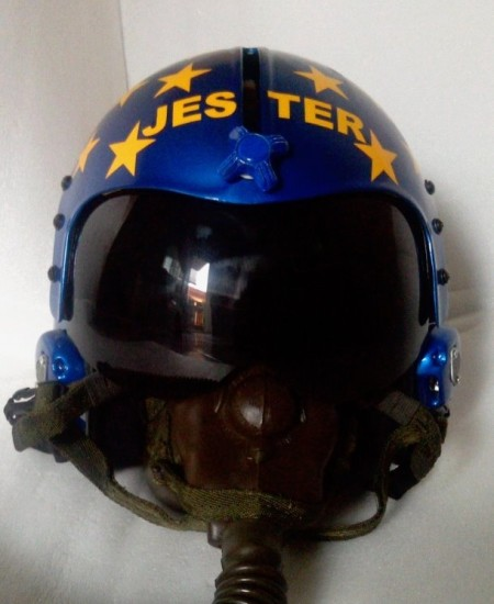 Top Gun Jester Helmet Top Gun Movie Accurate Replicas