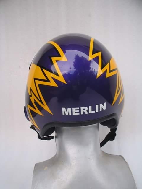 Merlin Top Gun Helmet
