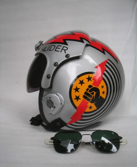 Top Gun Slider Helmet Top Gun Accurate Replica Helmets