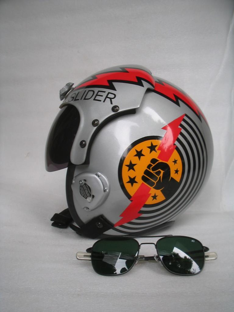 Slider Top Gun Helmet