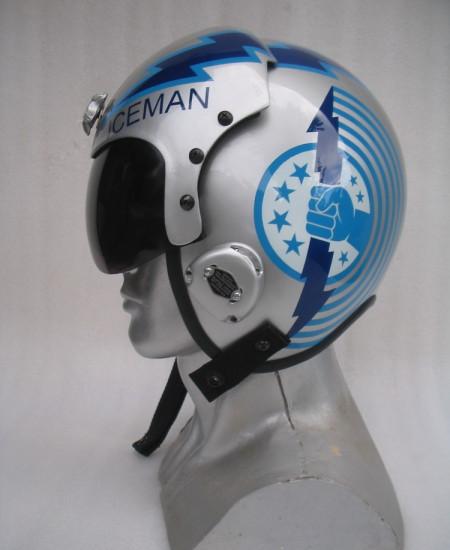 Top Gun Iceman Helmet | 100% Top Gun Movie Fan Must Have