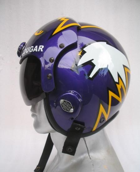 Top Gun Cougar Helmet The 1 Prop For Top Gun Movie Fan